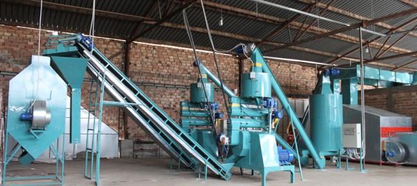 Fabrica de produccion de pellets bulimpex