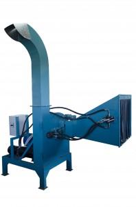 preparacion de astilla para produccion de pellets