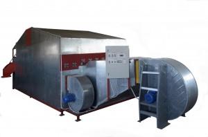 Secadero de biomasa por sinfines 500 a 2000 kghora